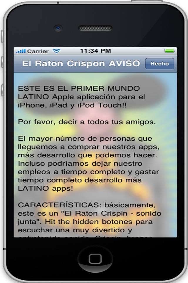 Screenshot AY GUEY, o El Raton Crispin