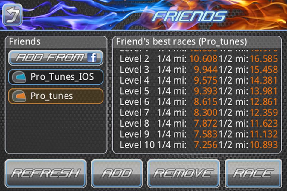 Drag Racing Pro Tunes Screenshots