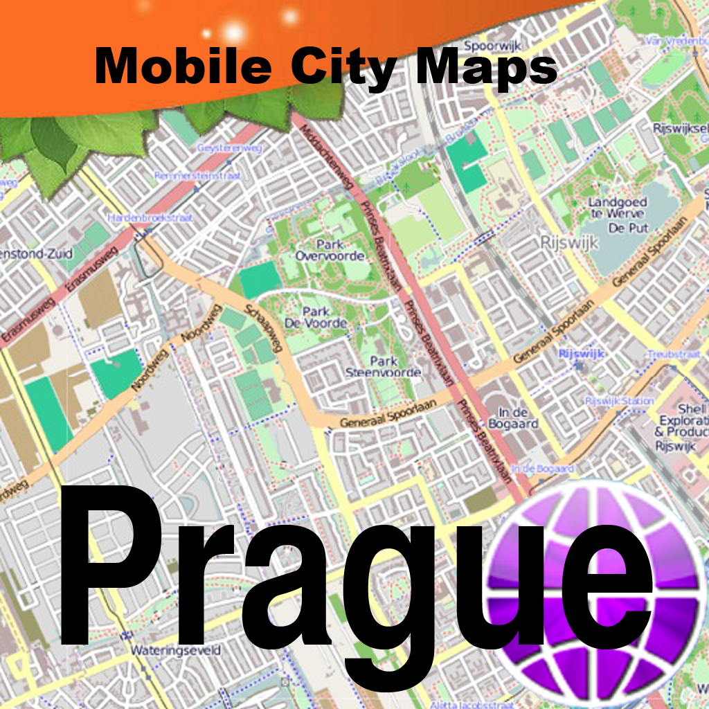 Garda Street Map For Prague Street Map